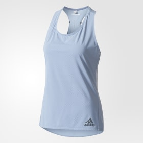Top Climachill Striped Tank Top
