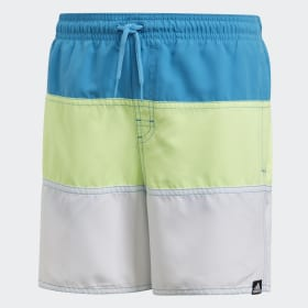 Colourblocked badeshorts