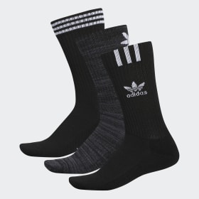 Graphic Logo Crew Socks 3 Pairs