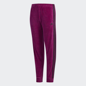 YOUTH PINK VELOUR JOGGER