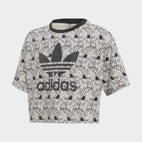 Krótka koszulka Zebra