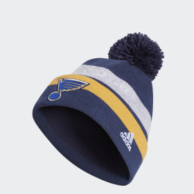 Blues Team Cuffed Pom Beanie