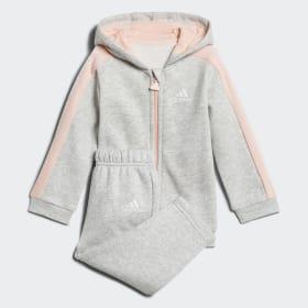 Linear Hooded Fleece Jogginganzug