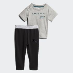 Conjunto de camiseta y pantalón EQT