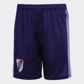 Shorts de Visitante Club Atlético River Plate Niño