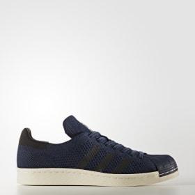 53d0a718de Sapatos Superstar 80s Primeknit ...