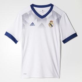 Camiseta calentamiento primera equipación Real Madrid