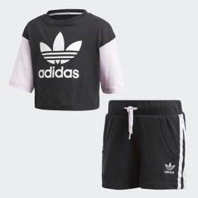 Conjunto Shorts y Polera