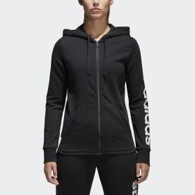 Chaqueta con capucha Essentials Linear Full Zip
