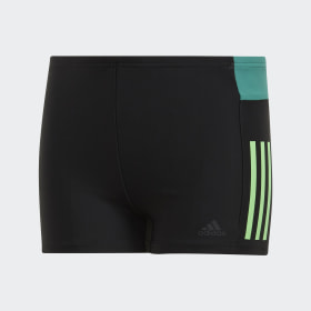 fitness colorblock swim boxer boys