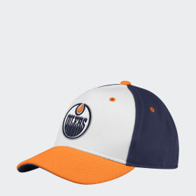 Oilers Adjustable Piqué Mesh Cap