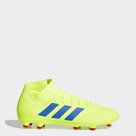 pretty nice e2fa5 41f3a Zapatos de Fútbol Nemeziz 18.3 Terreno Firme ...