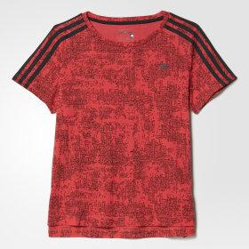 Koszulka Essentials 3-Stripes Allover Print Tee