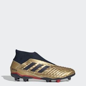 Botas de Futebol Predator 19.3 Zinédine Zidane – Piso firme