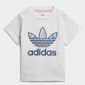Marble Trefoil T-shirt