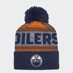 Bonnet Oilers Cuffed Pom Knit