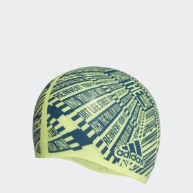 Bonnet de bain Allover Print Silicone