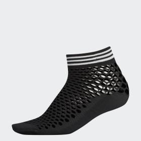 Fishnet Quarter Socks