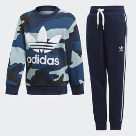 Camouflage Sweatshirt sæt