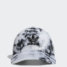 Relaxed Tie-Dye Strap-Back Hat