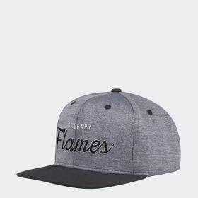 Flames Snapback Cap