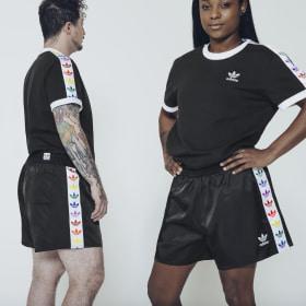 Camiseta Pride Trefoil Tape