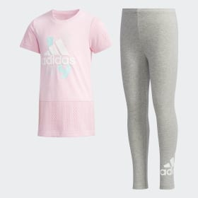 Completo T-shirt e leggings