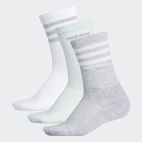 3-Stripes Crew Socks 3 Pairs