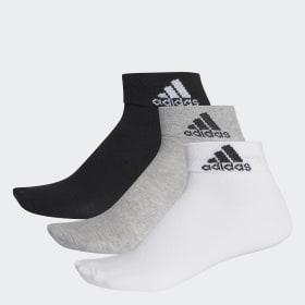 3 pares de calcetines cortos finos Performance