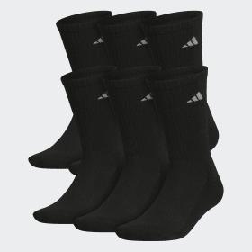 Athletic Crew Socks 6 Pairs