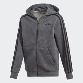 Veste à capuche à 3 bandes Essentials