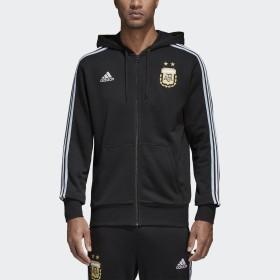Campera con capucha 3 Tiras Selección Argentina 2018