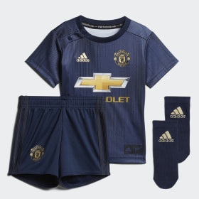 Mini Terceiro Equipamento do Manchester United
