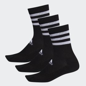 3-Stripes Cushioned Crew Socks 3 Pairs