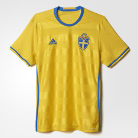 Maillot Suède UEFA EURO 2016 Domicile