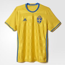 UEFA EURO 2016 Sweden hjemmebanetrøje