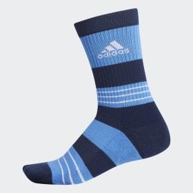 Linear Colorblock Crew Socken