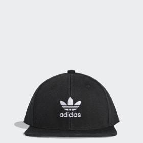 Adicolor Flat-Brim Trefoil Hat ... 72e1e152814f