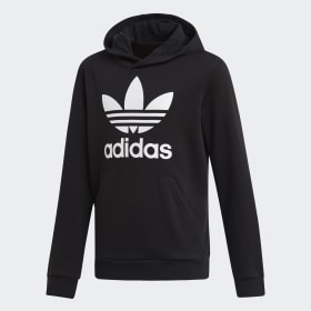 cheap for discount c88da 9d5e6 BlackBlack · HoodiesHoodies · Clear All · Trefoil Hoodie. Kids Originals