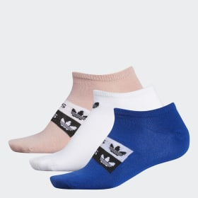 Stacked Forum No-Show Socks 3 Pairs
