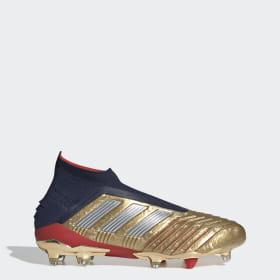 Bota de fútbol Predator 19+ Zidane/Beckham césped natural seco