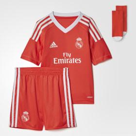 Real Madrid Torwart Mini-Auswärtsausrüstung