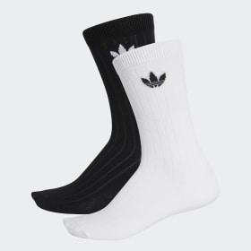 Ponožky Mid Ribbed Crew– 2páry