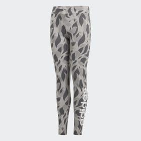 Linear Printed Tights