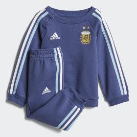 Pantalón con puño Selección Argentina 3 Tiras para Bebé