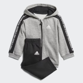 Linear Hooded Fleece joggingdragt