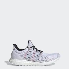 Sapatos Ultraboost vs. Mi