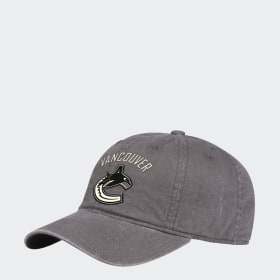 Canucks Adjustable Slouch Ripstop Cap
