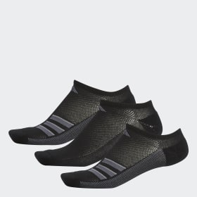 Climacool Superlite 3-Stripes No-Show Socks