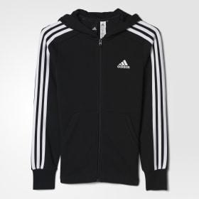 Essentials 3-Stripes hættetrøje